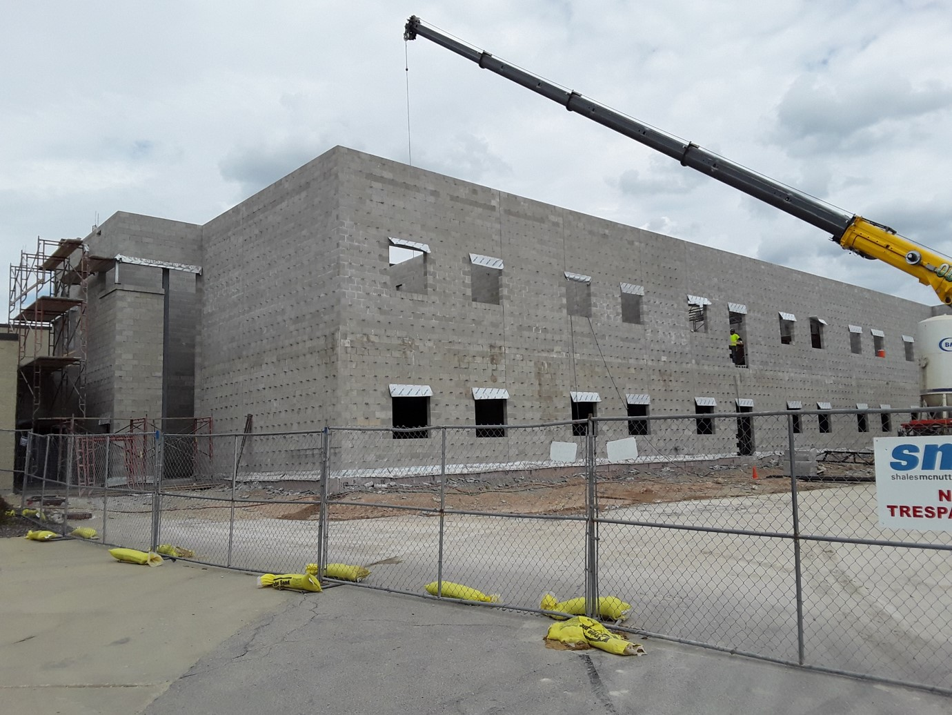 Central High School Construction
