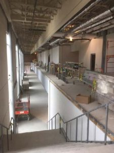 Construction at Central High School - Central School