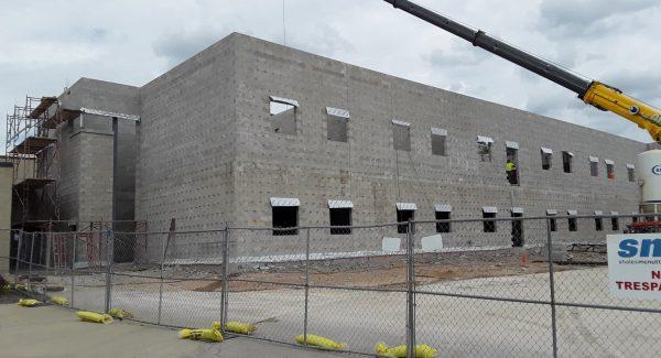 Central High School Construction
