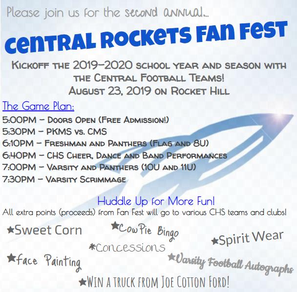 Fan Fest Flyer